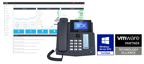 3cx VoIP Management System